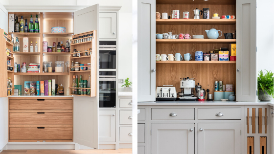 Five 'must haves' for an organised kitchen design