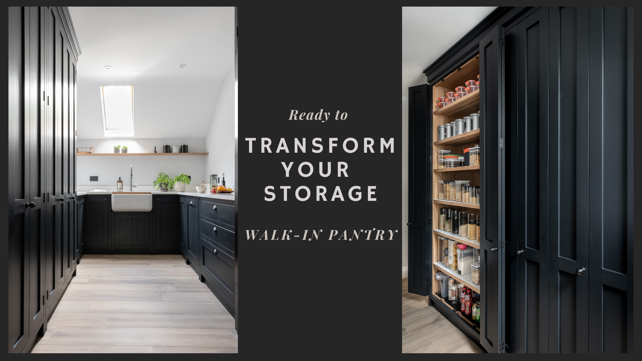 Why we love a Walk-In Pantry